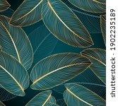 vintage luxury seamless floral...   Shutterstock .eps vector #1902235189