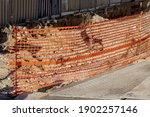 Plastic Orange Barricade Net...