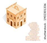Model Gift Box Of Tower  Castle ...