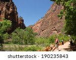moab  utah   may 8  zion... | Shutterstock . vector #190235843