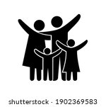 vector illustration of happy... | Shutterstock .eps vector #1902369583