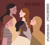 women's day illustration... | Shutterstock .eps vector #1902380800