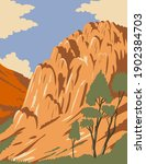 pinnacles national park with...   Shutterstock .eps vector #1902384703