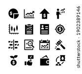 simple set of stock exchange... | Shutterstock .eps vector #1902389146