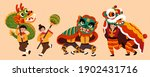 people characters for chinese... | Shutterstock .eps vector #1902431716