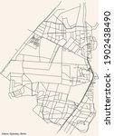 black simple detailed city...   Shutterstock .eps vector #1902438490