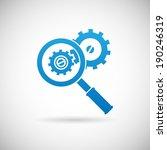 troubleshooting symbol...   Shutterstock .eps vector #190246319