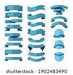 geometric ribbon stripes... | Shutterstock .eps vector #1902483490