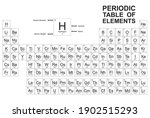 periodic table of the elements...   Shutterstock .eps vector #1902515293