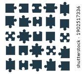 jigsaw puzzle piece vector... | Shutterstock .eps vector #1902517336