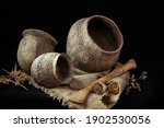 Pottery Of The Yamnaya Culture...