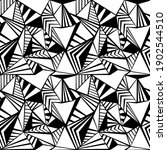 triangle seamless pattern... | Shutterstock .eps vector #1902544510