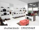 bright and fashionable interior ... | Shutterstock . vector #190255469