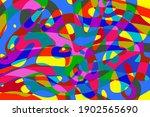 modernist abstract art...   Shutterstock . vector #1902565690
