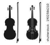 Violin Icon. Music Instrument...