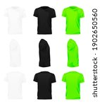 mens t shirt of different types ...   Shutterstock .eps vector #1902650560
