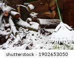 Rake And Garden Tools Covered...