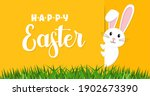 easter rabbit  easter bunny.... | Shutterstock .eps vector #1902673390