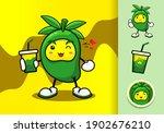 mango fruit character vector... | Shutterstock .eps vector #1902676210
