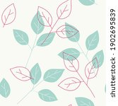 seamless pattern with... | Shutterstock .eps vector #1902695839