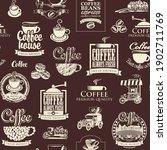 vector seamless pattern on the...   Shutterstock .eps vector #1902711769