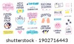 collection of hand drawn... | Shutterstock .eps vector #1902716443
