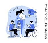 special education preschool...   Shutterstock .eps vector #1902734803