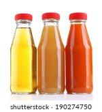 baby food  juices  in glass...   Shutterstock . vector #190274750