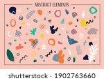 big vector set of hand drawn...   Shutterstock .eps vector #1902763660