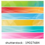 abstract banners | Shutterstock .eps vector #19027684