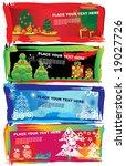 christmas banners | Shutterstock .eps vector #19027726