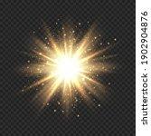 star burst with sparkles.... | Shutterstock .eps vector #1902904876