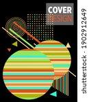abstract bauhaus geometric... | Shutterstock .eps vector #1902912649