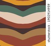boho wavy striped pattern... | Shutterstock .eps vector #1902914959