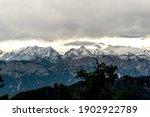 bavarian alps  mountain peaks... | Shutterstock . vector #1902922789