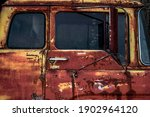 Rusty Old Truck That I Found In ...