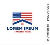 united states of america flag...   Shutterstock .eps vector #1902997396