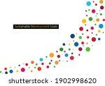 for sustainable development... | Shutterstock .eps vector #1902998620