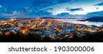 Panorama Of Songkhla City In...