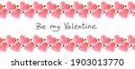 be my valentine   hand written...   Shutterstock . vector #1903013770