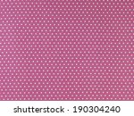seamless white and pink polka