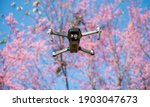 Unidentify Drone Flying On The...