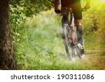 mountain bike race | Shutterstock . vector #190311086