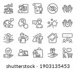 people icons set. included icon ... | Shutterstock .eps vector #1903135453