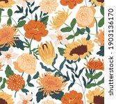 elegant seamless floral pattern ... | Shutterstock .eps vector #1903136170