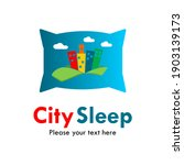 city sleep logo template... | Shutterstock .eps vector #1903139173