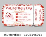 valentine's day red love party... | Shutterstock .eps vector #1903146016