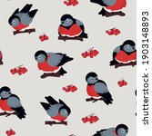 seamless vector pattern of... | Shutterstock .eps vector #1903148893