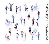 isomeric business people vector ...   Shutterstock .eps vector #1903153399