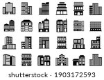 building icons set. collection...   Shutterstock .eps vector #1903172593